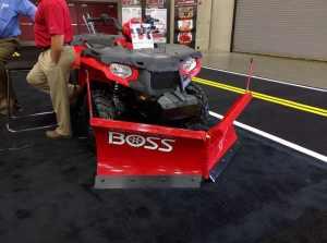 New BOSS ATV Plow