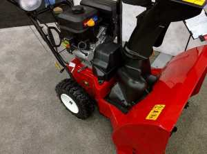Toro 826 OXE with automatic steering