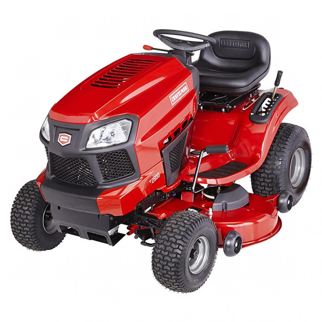 Craftsman 2000 Series Mower : Craftsman yard tractor line up one now with power