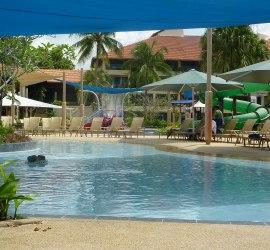 Pool and Splash Zone at Shangri-La Tanjung Aru, Kota KInabalu