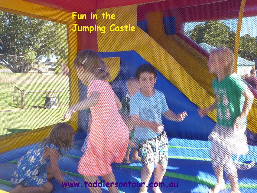 Jumping castles at festivals