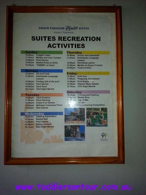 Sanur Paradise Plaza suites review