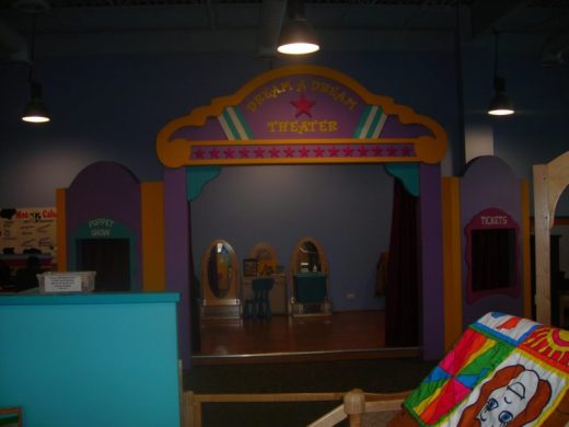Children's Museum in Oak Lawn - stage - Toddling Around Chicagoland