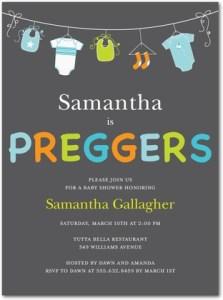 tiny prints - preggers