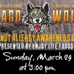 Chicago Wolves Peanut Allergy Awareness Day 2015