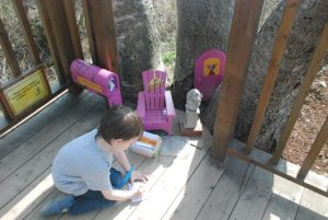 Bookworm Garden #Sheboygan - letter to the mouse