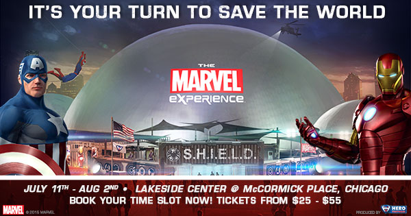 Be a Hero at The Marvel Experience – Giveaway