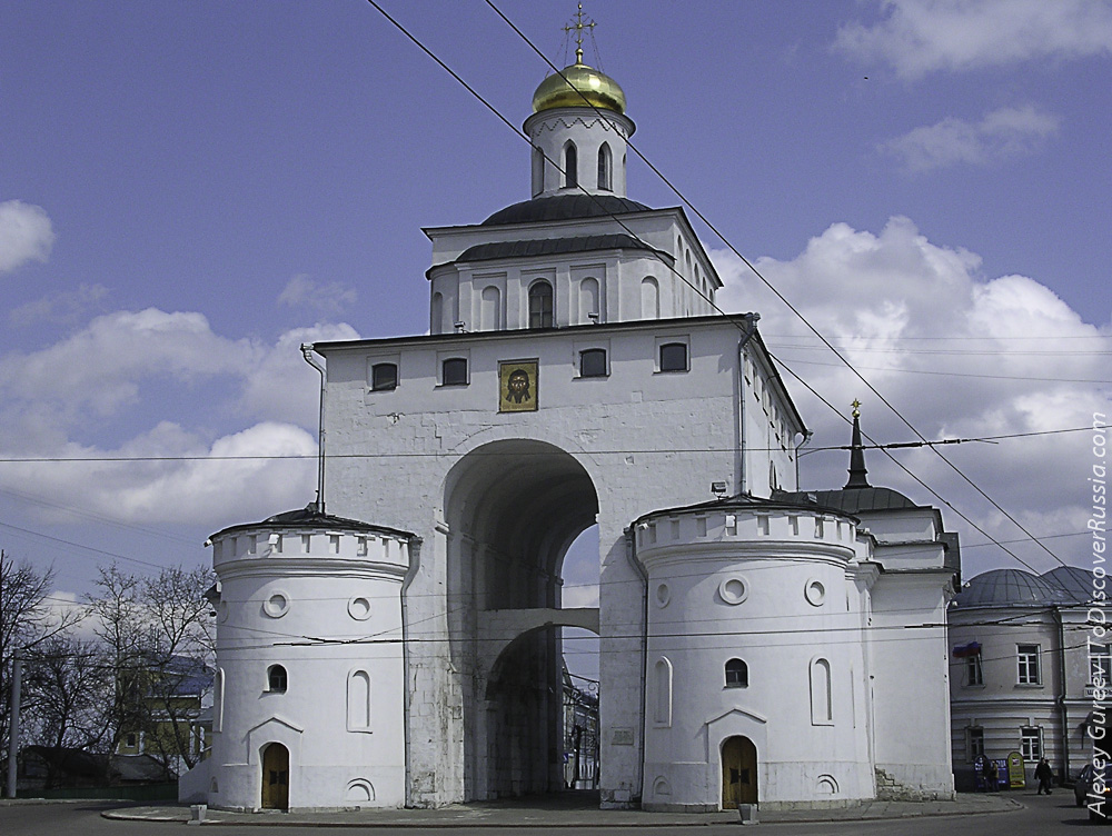 The Golden gate of Vladimir (Russia)