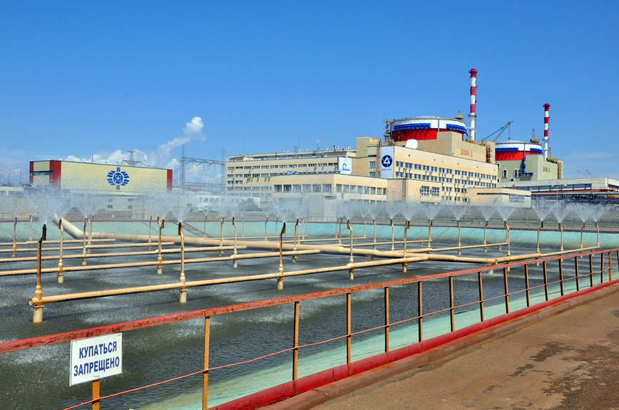 Rostov nuclear power plant, Volgodonsk city, Block 1 and Block 2