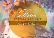 Imágenes Cristianas: Gracias Dios por este nuevo día