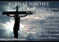 Buenas noches, el día termina y quiero decirte que te amo mi DIOS