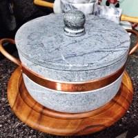 Como curar panela de pedra sabão