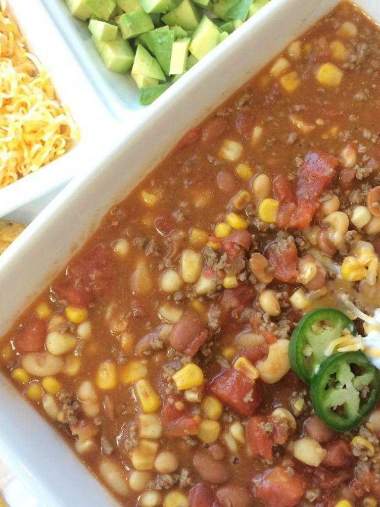 How to Make Texas Taco Soup
