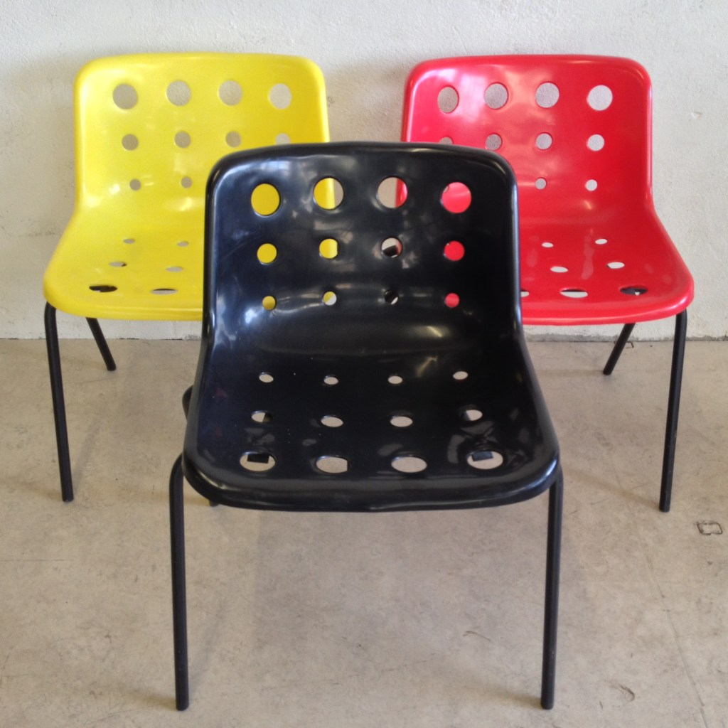 Robin Day stackable chair-2