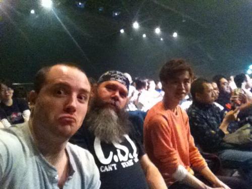 Screening Super Sentai Spirits, with Actor, Robert Baldwin (Kyoryuger Ramirez) and Senior Editor, Tom Constantine