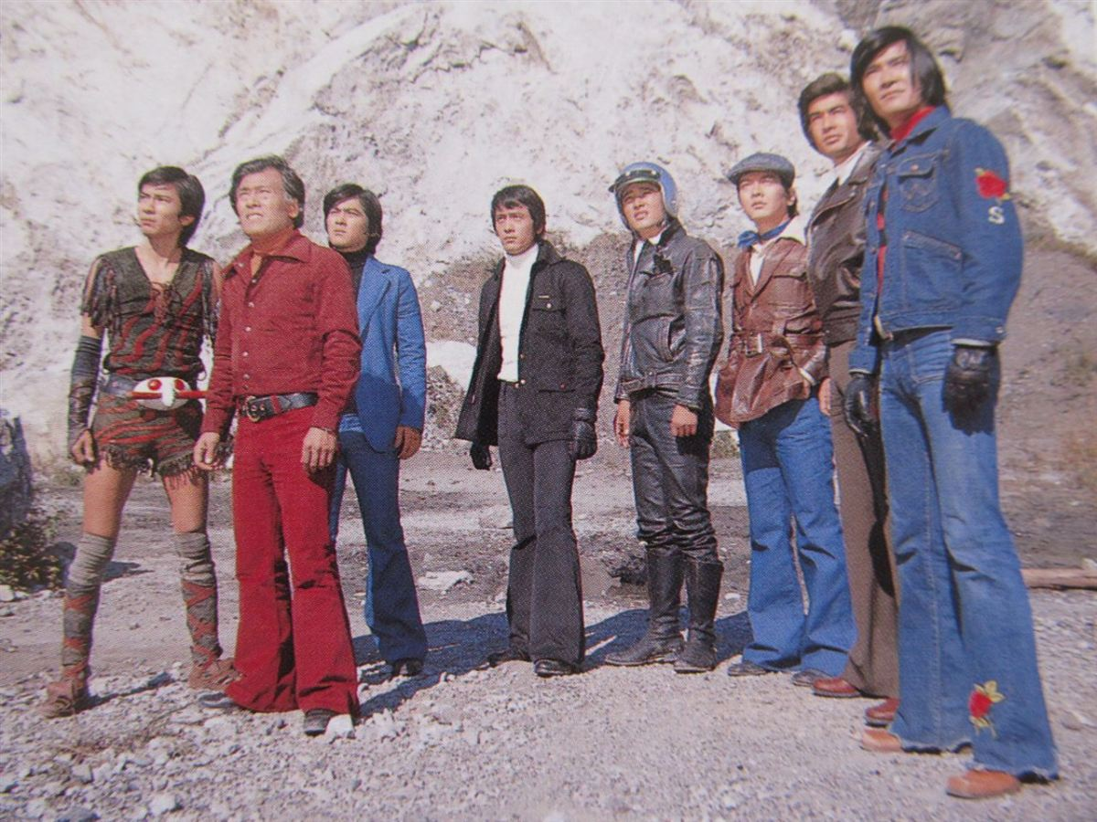Toku Kei: Fashion Advice from the Seven Legendary Riders