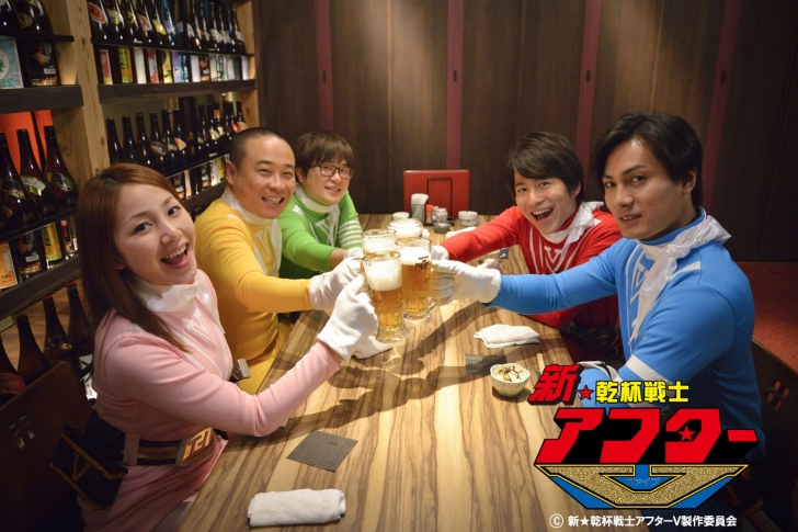 """""""Kanpai Senshi After V"""" Achieves Fundraising Goal to Create 3rd Series and Movie"""