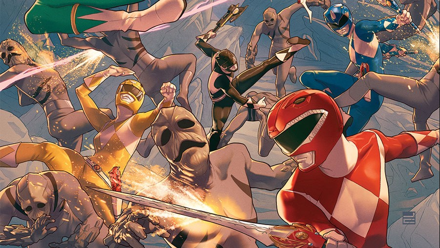 Mighty Morphin Power Rangers Comic In Demand