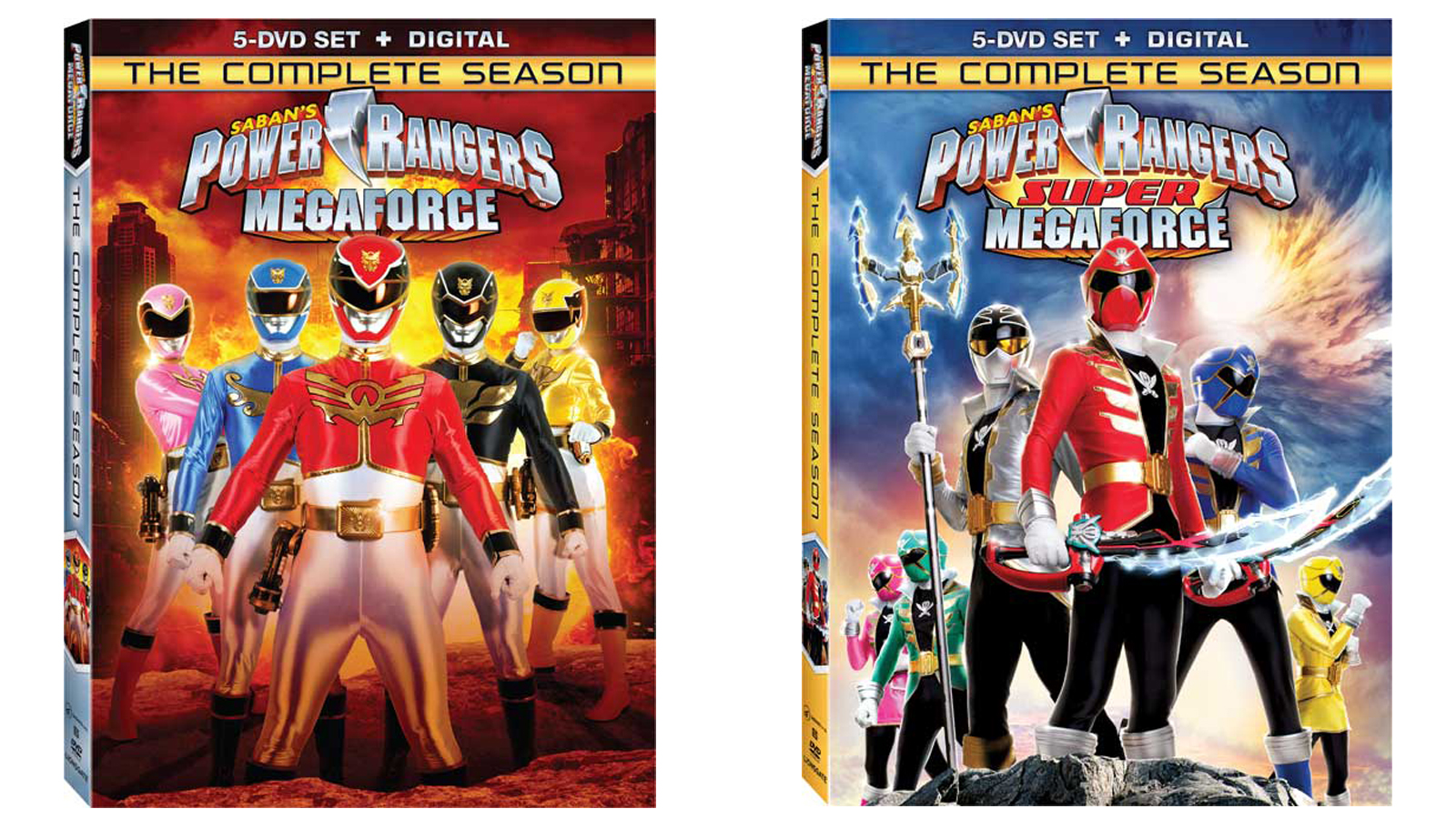 Power Rangers Megaforce & Super Megaforce Complete Season DVDs Announced