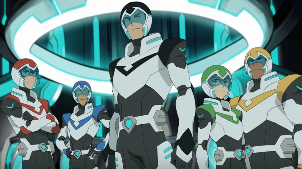 Preview Clips of Voltron Before Next Week's Release