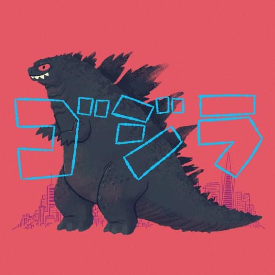 chistopherlee-Godzilla-Print
