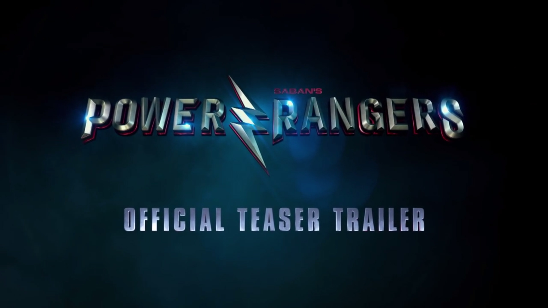 Power Rangers Movie Teaser Trailer Released