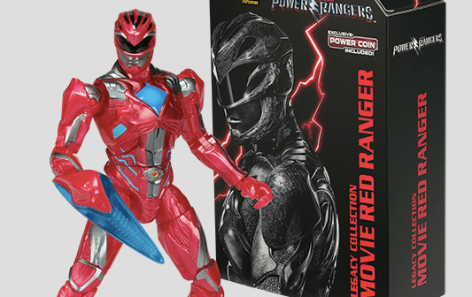 Limited Edition Legacy Movie Red Ranger Figure Announced for NYCC