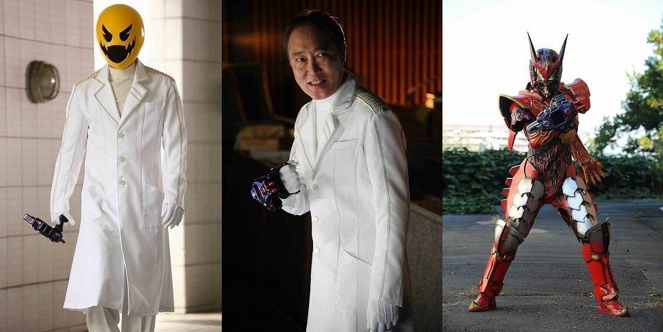 Shiro Sano Cast as Dr. Pacman in Kamen Rider Heisei Generations