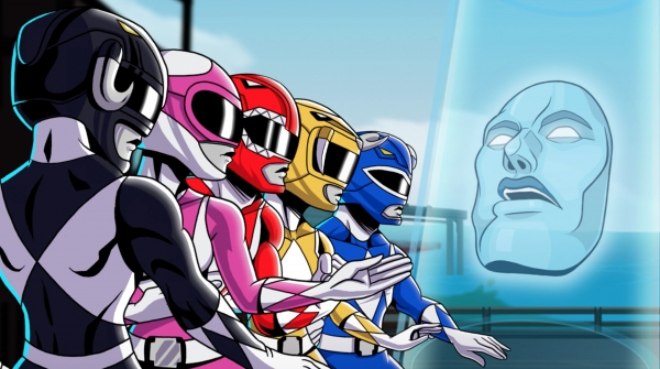 Mighty Morphin Power Rangers Mega Battle Intro Revealed