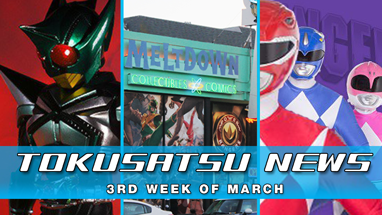 Every Episode of Power Rangers + Morphinomenal Art Show – The Tokusatsu Network Weekly News Roundup
