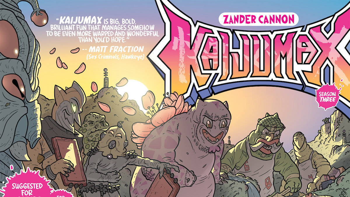 Kaijumax Season 3 Begins This July