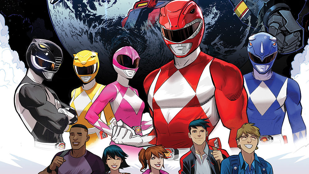 Comics Corner: Go Go Power Rangers #1