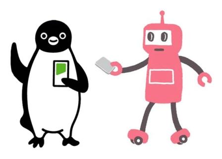 Suica vs. Pasmo - The mascot showdown