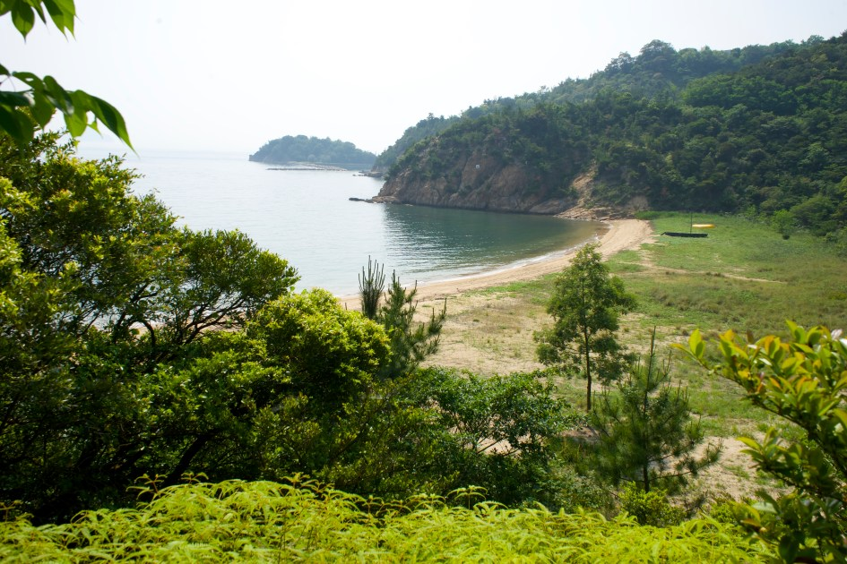 Naoshima is gorgeous all on its own - This is on the walk between Lee Ufan and Benesse House