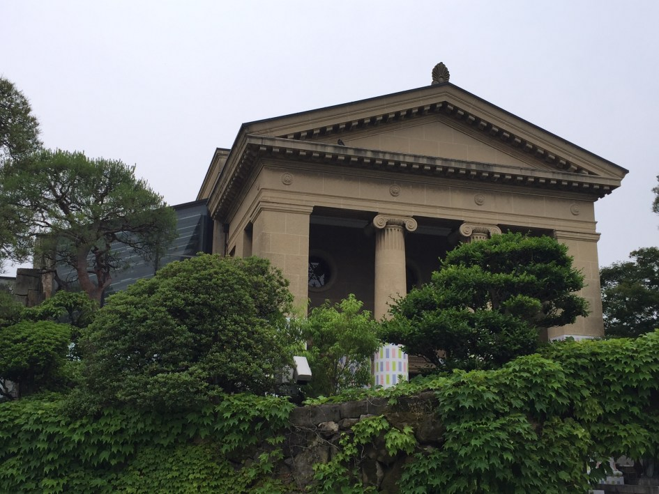 The first glimpse of the Ohara Art Museum