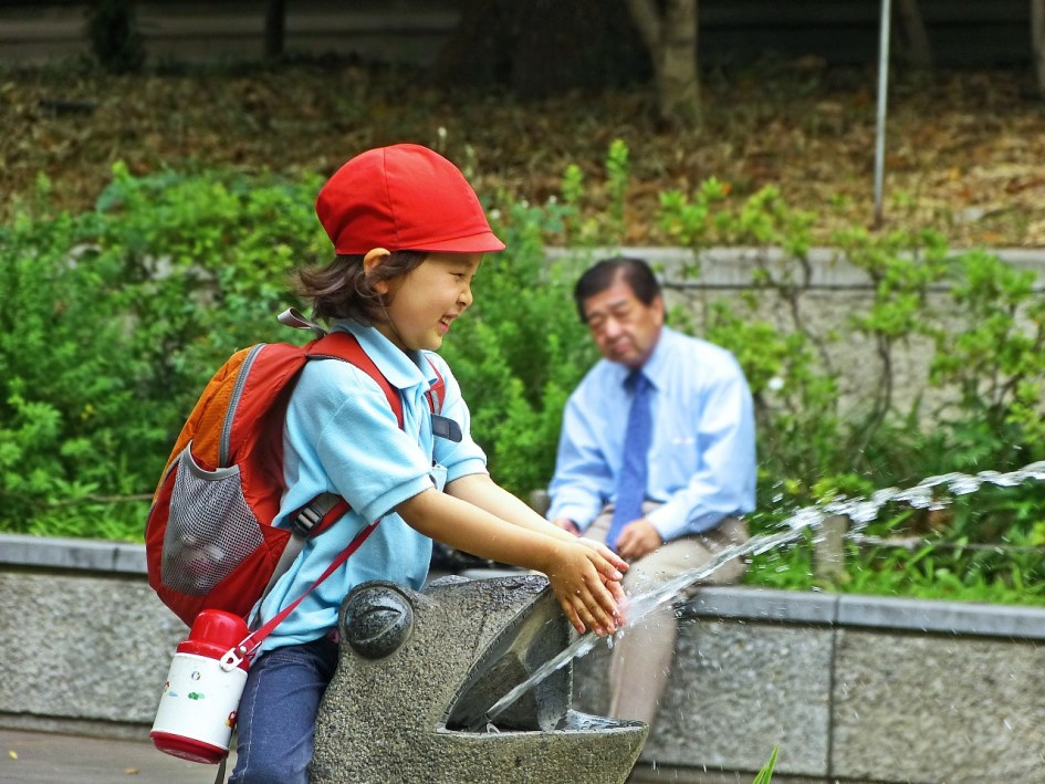 Little Girl in Ueno Park