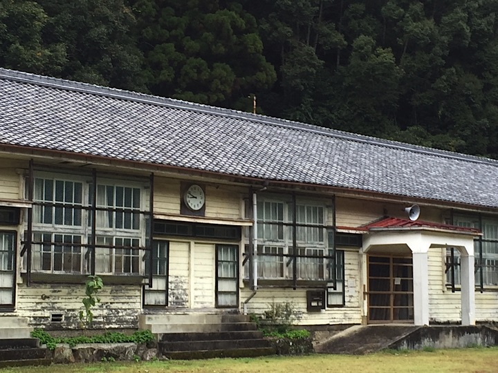 The population of Japan is shrinking and many schools have closed, including this one