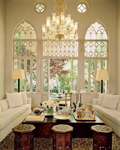 Elie Saab AD trifore Lebanon house