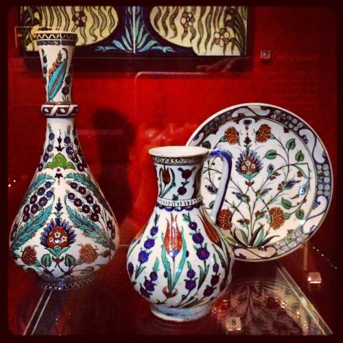 Iznik pottery at the V&A