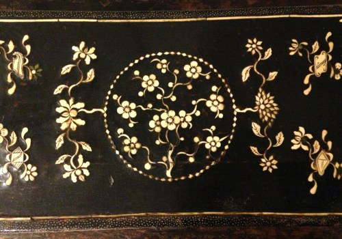 ivory inlay detail