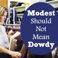 Modest Should Not Mean Dowdy