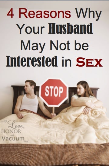 not intersted in sex