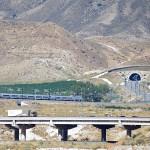 El AVE, entrando al túnel La Serreta #Alicante