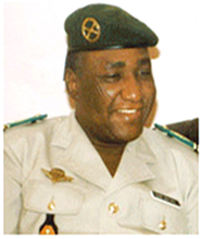 Cmd. Daouda Malam Wanké, 1999 as President of the CRN