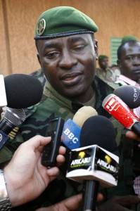 Two time Junta member Col. Hima Hamidou: