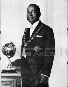 President Houphouët-Boigny Official Portrait 1960