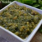 Keerai Kootu- Lentil Stew With Spinach