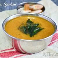 Palakottai Sambar Recipe  Jackfruit Seed Sambar   South Indian Recipes