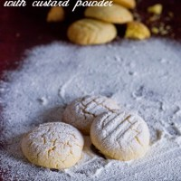 Custard Powder Cookies Recipe| Easy Eggless Cookie Recipes