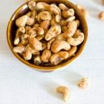 Microwave Pepper Cashews Recipe